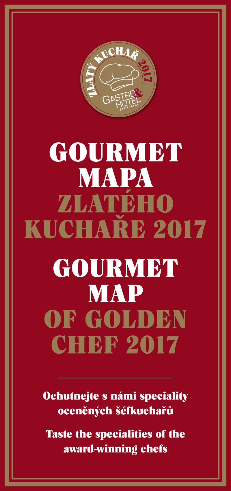 Mapa zlatého kuchaře